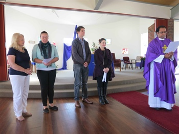 RCIA candidates welcomed into the Holy Spirit Parish community